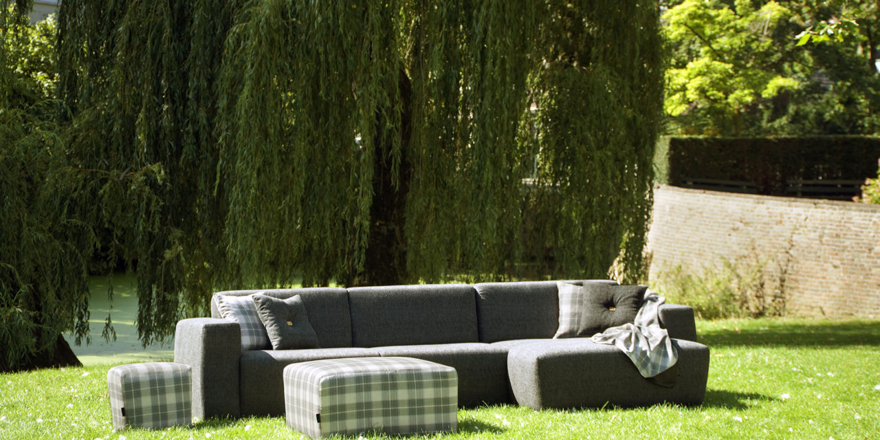 UrbanSofa Outdoor loungebank Provence grijs