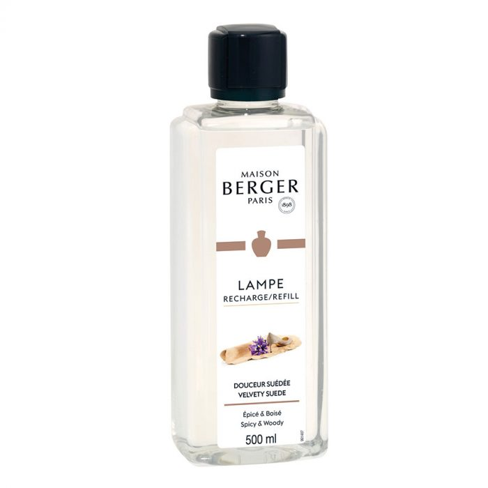 Huisparfum navulling 500ml Douceur Suédée / Velvety Suede