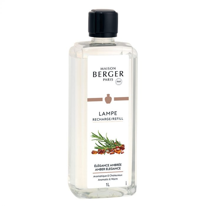 Huisparfum navulling 500ml Elégance Ambrée / Amber Elegance