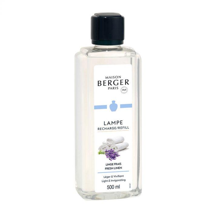Huisparfum navulling 500ml Linge Frais / Fresh Linen