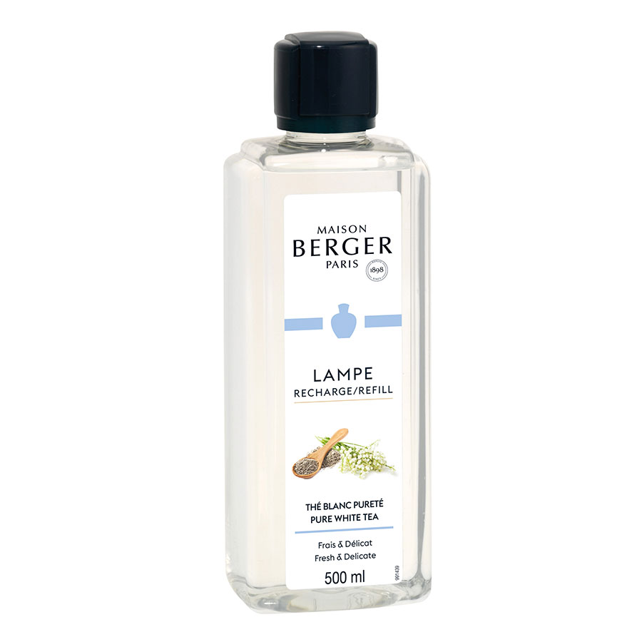 Huisparfum navulling 500ml Thé Blanc Pureté / Pure White Tea