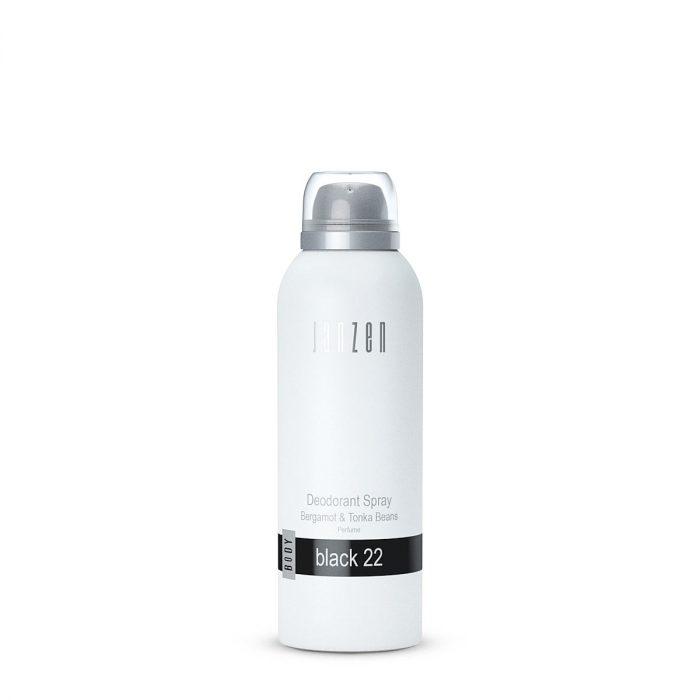 JANZEN Deodorant Spray Black 22