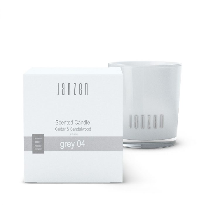 JANZEN Scented Candle Grey 04