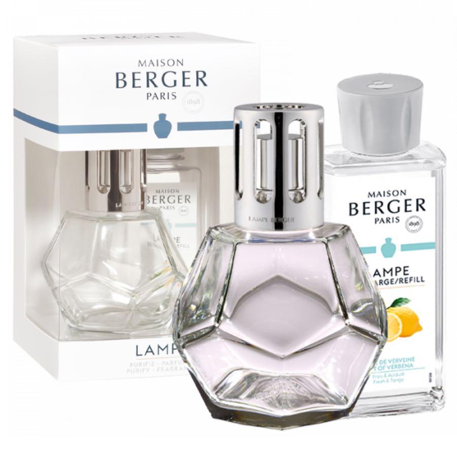Maison Lampe Berger Giftset Geometry Transparente 1