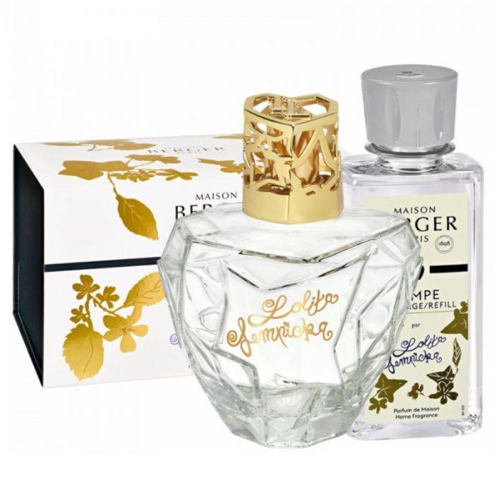 Maison Lampe Berger Giftset Premium Lolita Lempicka Transparente