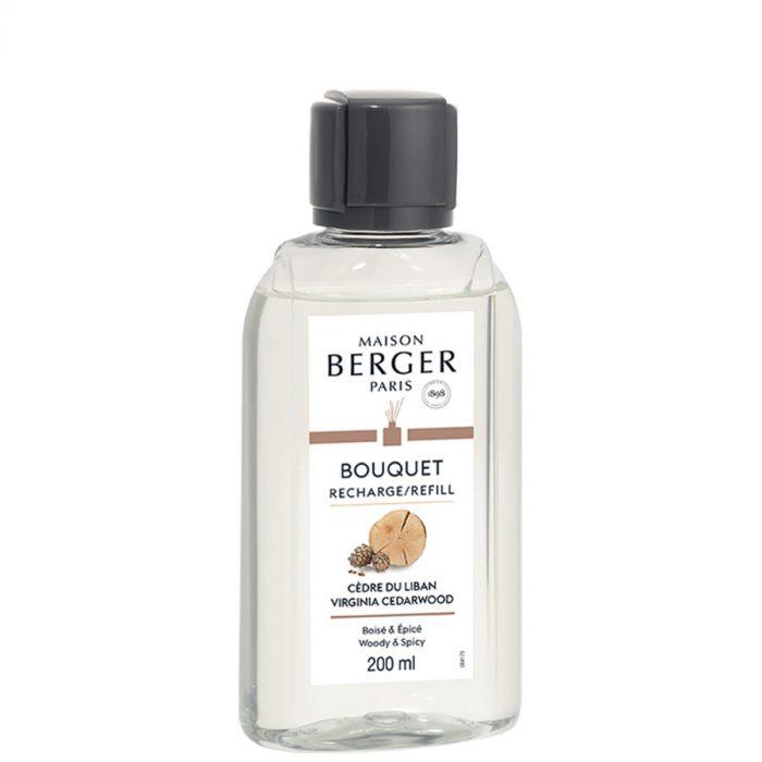 Navulling parfumverspreider 200ml Cedre du Liban / Virginia Cedarwood