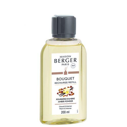Navulling parfumverspreider 200ml Poussière d'Ambre / Amber Powder