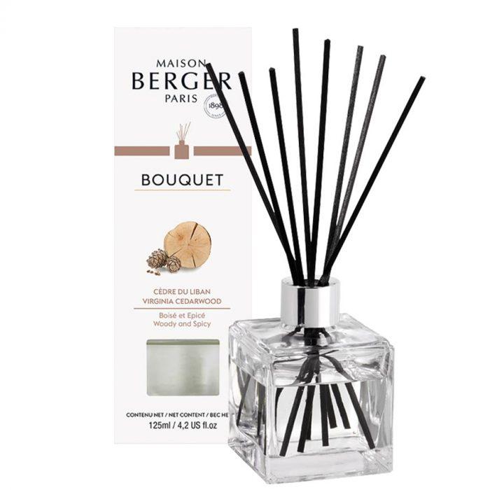 Parfumverspreider Cube Cedre du Liban / Virginia Cederwood