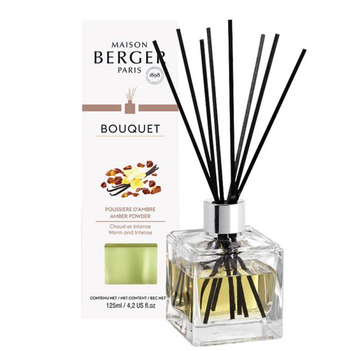 Parfumverspreider Cube Poussière d'Ambre / Amber Powder