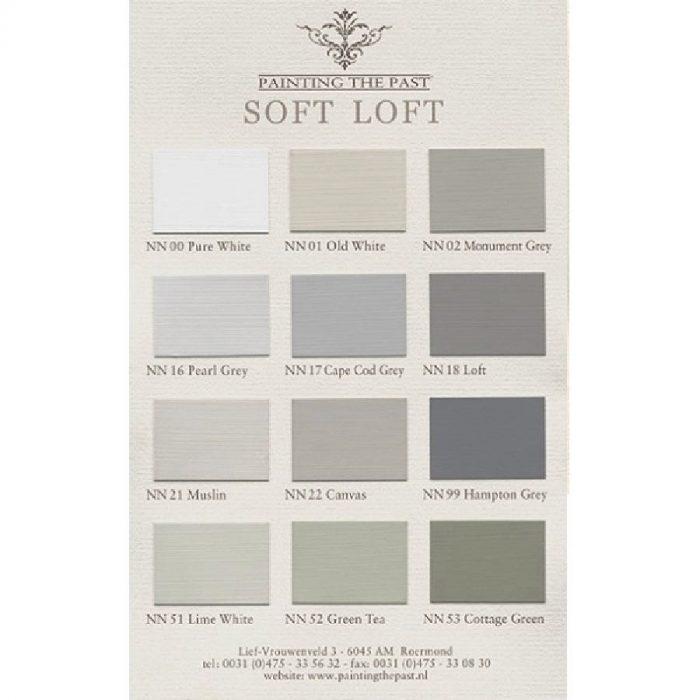 Colour card Soft Loft