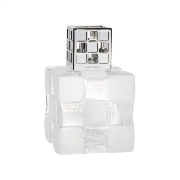 Maison Lampe Berger Damier Transparente 3