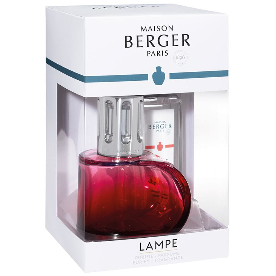 Maison Lampe Berger Giftset Alliance Rouge 4