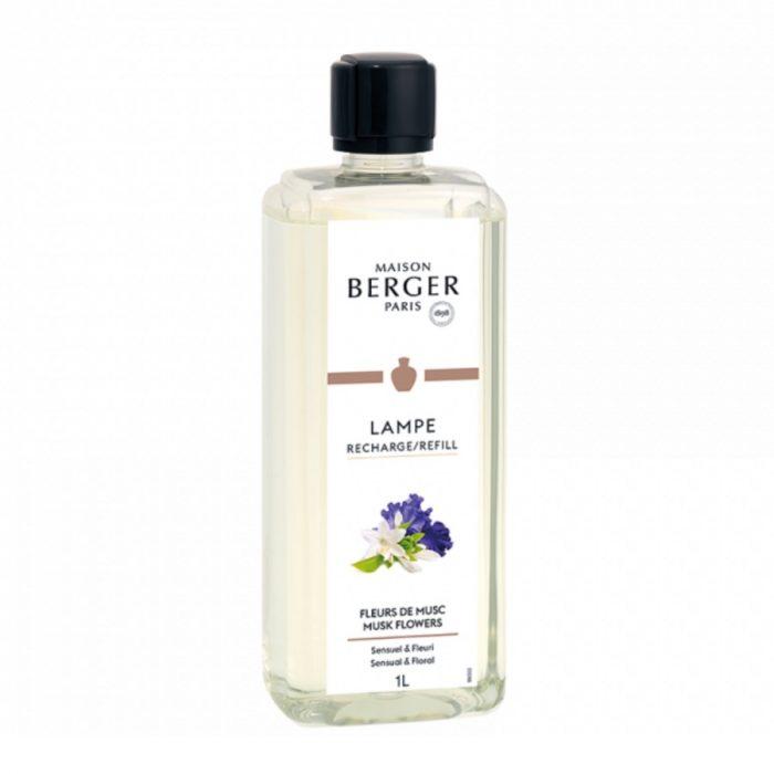 Lampe Berger Huisparfum Fleurs de Musc Musk Flowers 1L